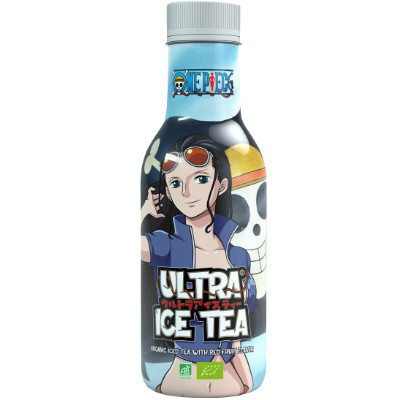 ONE PIECE ROBIN ULTRA ICE TEA WITH RED FRUIT FLAVOR