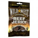 WILD WEST BEEF JERKY PEPPERED