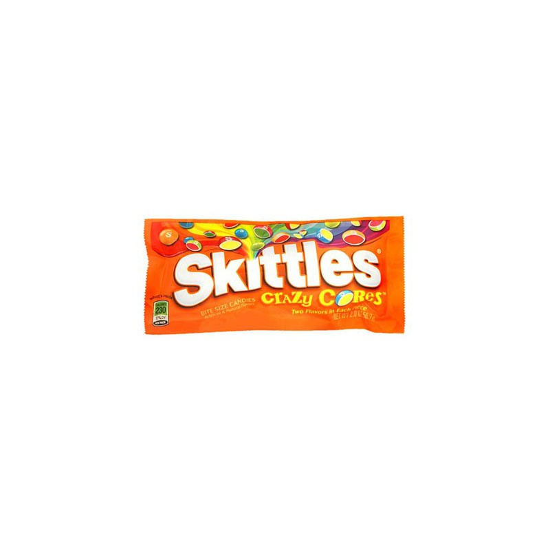 SKITTLES CRAZY CORES (x2 packs)