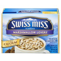 SWISS MISS CHOCOLAT CHAUD MINIS CHAMALLOWS