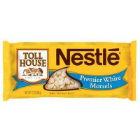 NESTLE TOLL HOUSE PREMIER WHITE CHOCOLATE MORSELS