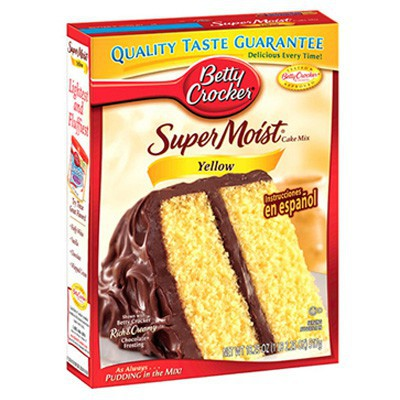 Acheter Betty Crocker Pr 201 Paration G 194 Teau Yellow Epicerie