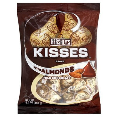 CLEARANCE - HERSHEY'S KISSES WITH ALMONDS