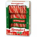 CANDY CANES MENTHE ROUGE BLANC (12)