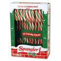 CANDY CANES MENTHE ROUGE VERT BLANC (12)