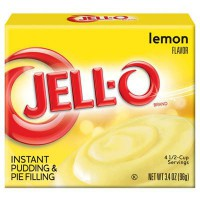 JELLO INSTANT PUDDING LEMON