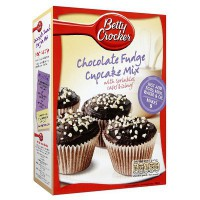 BETTY CROCKER CHOCOLATE FUDGE CUPCAKE MIX
