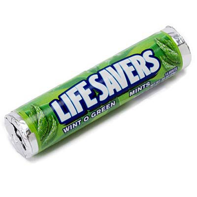 CLEARANCE - LIFE SAVERS WINT-O-GREEN