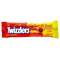HERSHEY'S TWIZZLERS SWEET AND SOUR FILLED TWISTS