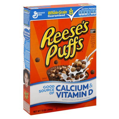 CLEARANCE - GENERAL MILLS REESE'S PUFFS