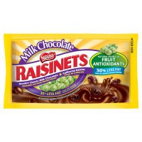 CLEARANCE - NESTLE RAISINETS MILK CHOCOLATE