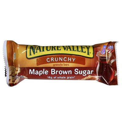 CLEARANCE - NATURE VALLEY CRUNCHY - MAPLE BROWN SUGAR