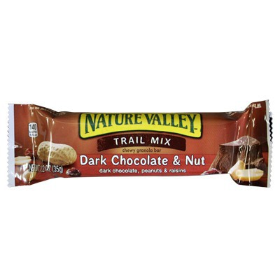CLEARANCE - NATURE VALLEY CHEWY TRAIL MIX - DARK CHOCOLATE AND NUT