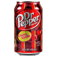 DR PEPPER CHERRY VANILLA SODA