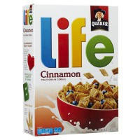 CLEARANCE - QUAKER LIFE CEREAL CINNAMON