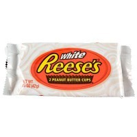 CLEARANCE - REESE'S 2 PEANUT BUTTER CUPS WHITE CHOCOLATE