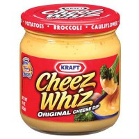 KRAFT CHEEZ WHIZ CHEESE DIP (CREMA DE QUESO)