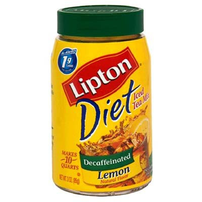 LIPTON DIET DECAF LEMON ICED TEA MIX