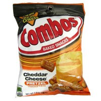 COMBO'S CHEDDAR-FILLED PRETZELS - GUSTO FORMAGGIO CHEDDAR