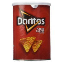 DORITOS NACHO CHEESE ORIGINAL CANISTER