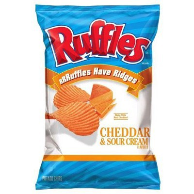 RUFFLES CHEDDAR & SOUR CREAM CHIPS