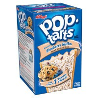 KELLOGG'S POP TARTS FROSTED BLUEBERRY MUFFIN