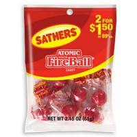 ATOMIC FIREBALL BAG