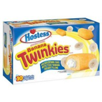 HOSTESS TWINKIES BANANA BOX