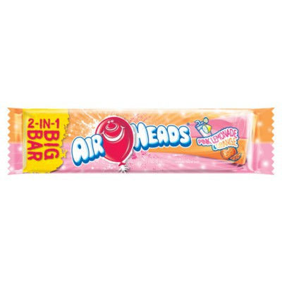 AIRHEADS PINK LEMONADE & ORANGE BIG BAR