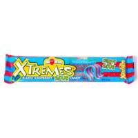 AIRHEADS XTREMES SOUR BELTS BLUEST RASPBERRY