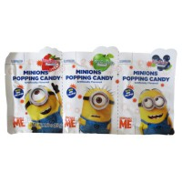 MINIONS POPPING CANDY - 3 POUCHES