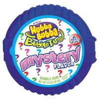 """HUBBA BUBBA BUBBLE TAPE CHEWING GUMS """"MISTERY"""" CINTA MÉTRICA"""