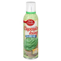 BETTY CROCKER SPRAY CUPCAKE ICING GREEN