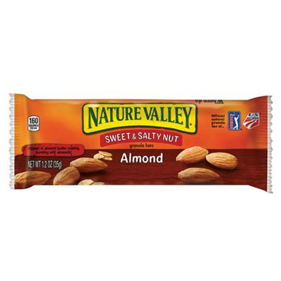 NATURE VALLEY SWEET & SALTY NUT GRANOLA BAR - ALMOND