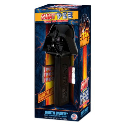 PEZ DISPENSER STAR WARS GIANT DARTH VADER WITH CANDIES