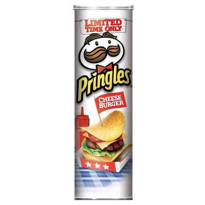 PRINGLES CHEESEBURGER CHIPS