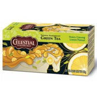 CELESTIAL SEASONINGS GREEN TEA HONEY LEMON GINSENG