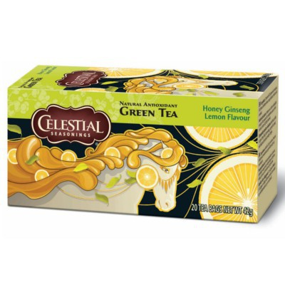CLEARANCE - CELESTIAL SEASONINGS GREEN TEA HONEY LEMON GINSENG