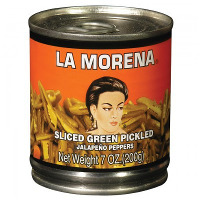 LA MORENA SLICED JALAPENO PEPPERS