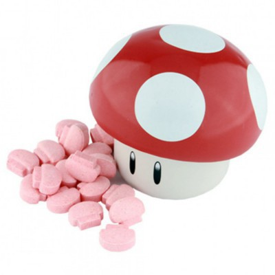 NINTENDO SUPER MARIO BROS MUSHROOM SOUR CANDIES