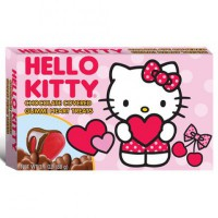 HELLO KITTY CHOCOLATE COVERED GUMMI HEARTS TREATS