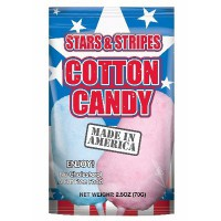 CLEARANCE - STARS AND STRIPES COTTON CANDY LARGE BAG