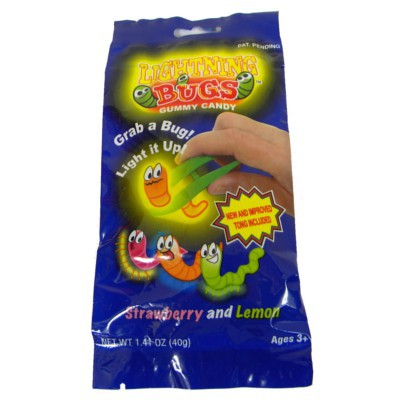 LIGHTNING BUGS GUMMY CANDY
