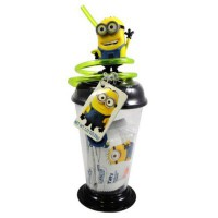MINIONS SIPPER CUP WITH TAFFIES