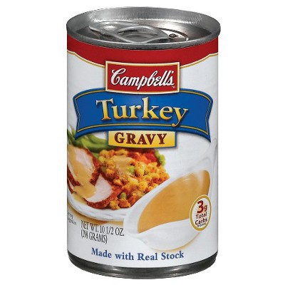 CAMPBELL'S TURKEY GRAVY SAUCE