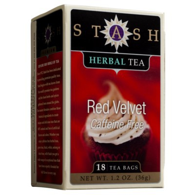 STASH TEA RED VELVET HERBAL TEA