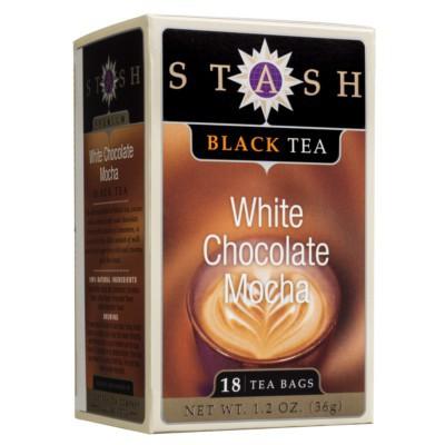 STASH TEA WHITE CHOCOLATE MOCHA BLACK TEA