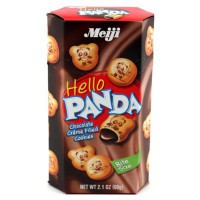MEIJI HELLO PANDA BITE SIZE CHOCOLATE COOKIES