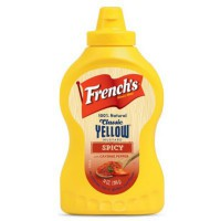 FRENCH'S YELLOW MUSTARD SPICY / MOSTAZA PICANTE