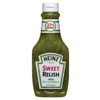 HEINZ SWEET RELISH SUAVE FRASCO